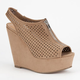 SODA Arana Womens Wedges