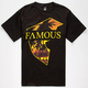 FAMOUS STARS & STRAPS Sunny Lux Mens T-Shirt