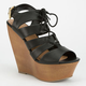 DELICIOUS Theresa Womens Wedges