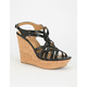 SODA Online Womens Wedges