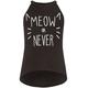 FULL TILT Meow Or Never Girls Hi Neck Tank