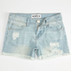 CELEBRITY PINK Destroyed Girls Denim Shorts