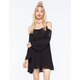 CHLOE K Cold Shoulder Dress