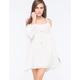 CHLOE K Cold Shoulder Dress