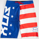FOX Red White And True Mens Boardshorts