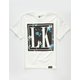 LAST KINGS Dark Floral Boys T-Shirt