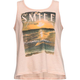FULL TILT Smile Lace Back Girls Tank