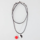3 Pack Tattoo Choker/Yin Yang/Rose Necklaces