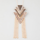 FULL TIL Tribal Arrow Fringe Necklace