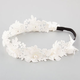 FULL TILT Crochet Pearl Flower Crown