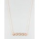 FULL TILT Dainty Triangle Necklace