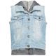 HIGHWAY Denim/Fleece Girls Vest