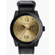 NIXON Corporal Black & Gold Watch