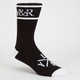 YOUNG & RECKLESS Trademark Mens Socks