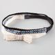 FULL TILT 3 Pack Crochet Bow/Braided/Woven Headbands