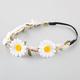 FULL TILT Crochet Daisy Flower Crown