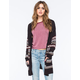 FULL TILT Ethnic Border Womens Cardigan