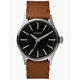 NIXON Sentry 38 Leather Watch