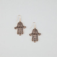 FULL TILT Hamsa Hand Earrings