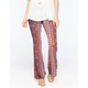 PATRONS OF PEACE Printed Knit Womens Flare Pants
