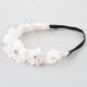 FULL TILT Chiffon Flower Crochet Headband