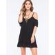 LOTTIE & HOLLY Cold Shoulder Dress