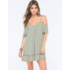 LOTTIE & HOLLY Cold Shoulder Dress