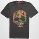 IMPERIAL MOTION Floral Skull Mens T-Shirt