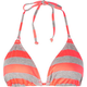 BIKINI LAB The Bright Stripes Bikini Top
