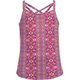 FULL TILT Tonal Boho Criss Cross Girls Tank