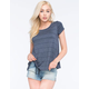 FULL TILT Stripe Womens A Line Tee