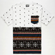 NEFF Death Isle Mens Pocket Tee