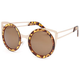 FULL TILT Nicole Kitty Round Sunglasses