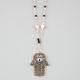 FULL TILT Hamsa Rosary Necklace