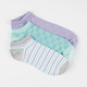 FULL TILT 3 Pairs Super Soft Womens No Show Socks