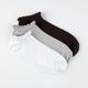 FULL TILT 3 Pairs Pointelle Super Soft Womens No Show Socks
