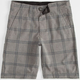 VOLCOM Frickin Static Plaid Boys Hybrid Shorts