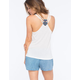 BOZZOLO Ethnic Back Detail Womens Tank