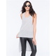 BOZZOLO Extreme Tunic Womens Muscle Tank
