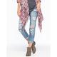 ZCO Rolled Cuff Womens Boyfriend Jeans