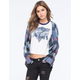 FULL TILT Womens Hooded Flannel Shirt