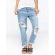 CELEBRITY PINK Womens Boyfriend Jeans