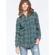 FULL TILT Boyfriend Womens Flannel Shirt
