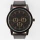 Black/Gold Chrono Watch