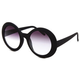 FULL TILT Edie Arrow Round Sunglasses