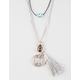 FULL TILT 3 Piece Eye/Stone/Compass Necklace