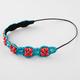 FULL TILT Flower Beaded Headband
