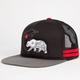 FAMOUS STARS & STRAPS Cali Bear BOH Mens Trucker Hat