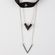 FULL TILT 3 Pack Triangle Choker/Chevron Necklaces