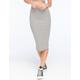 FULL TILT Rib Stripe Midi Skirt